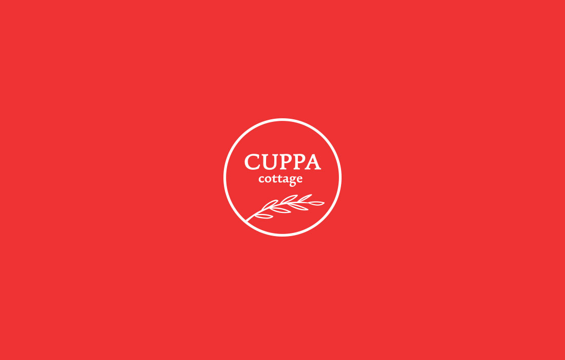 Cuppa Cottage logo design - Mr Legacy