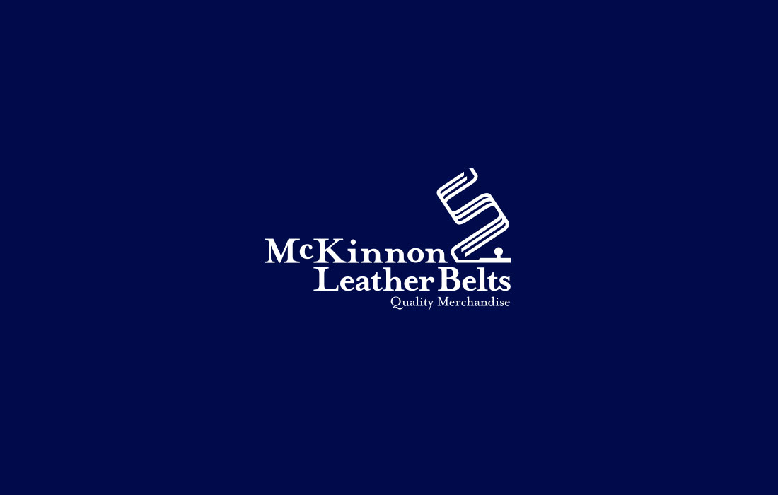 Mckinnon Leather logo design - Mr Legacy