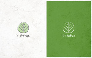 T-Station logo design - logo variations