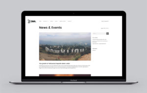 5MA website design - Latest News page