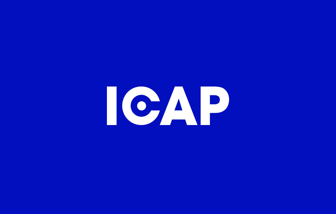Corporate brandmark design for ICAP